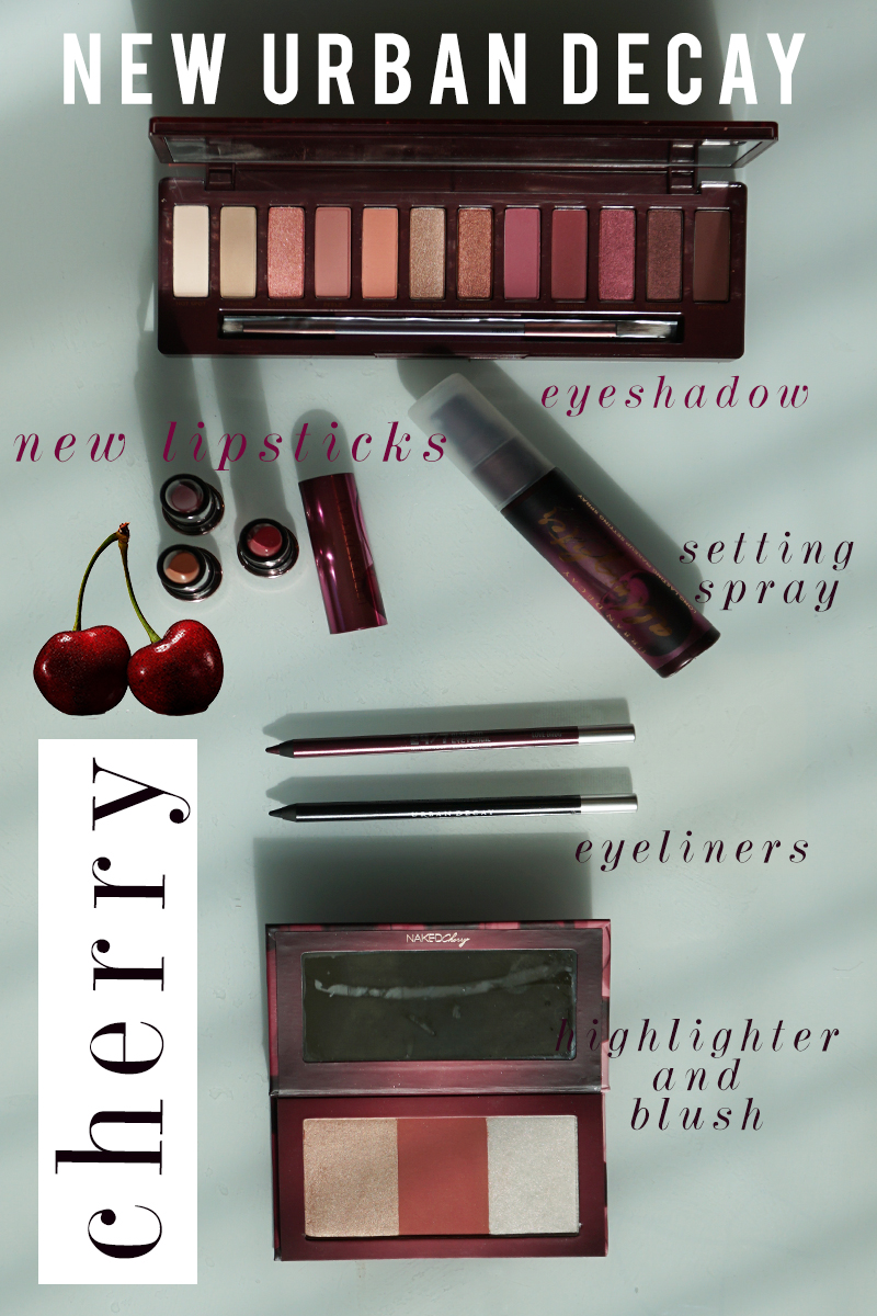 Urban Decay Cherry Eyeshadow Palette And Makeup Review -2405