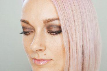 naughty eyeshadow look using Luminess Air