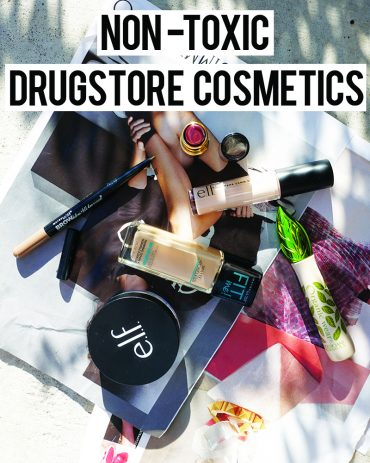 Non toxic drugstore makeup look with brands like Revlon, Lo'real , and E.L.F with beauty and lifestyle blogger, Kendra Stanton.