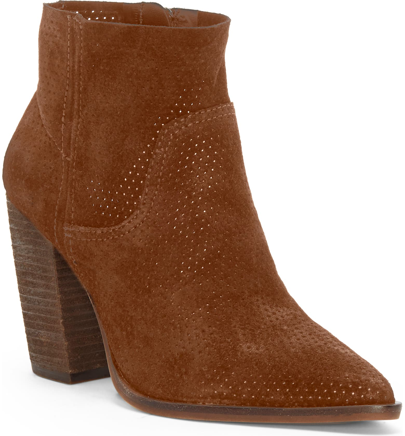 perforated fall boots in autumn shades are so popular for fall 2019 trending boots! Check out all the styles here!