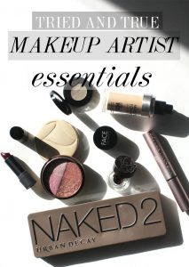 Here are your must have makeup artist tried and true makeup essentials! From lipstick, mascara, and foundation! Here are the industry favorites!